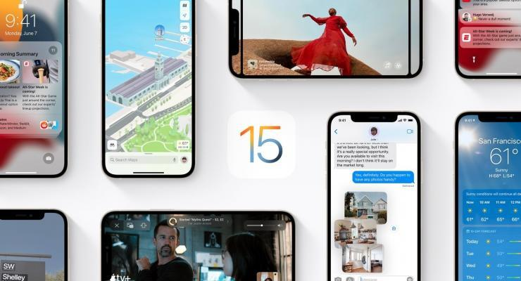 iOS 15 official art